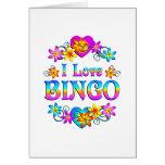 Amo bingo felicitacion