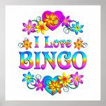 Amo bingo impresiones