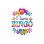 Amo bingo postales