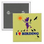 Amo Birding Pin