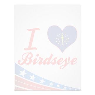 Amo Birdseye, Indiana Plantilla De Membrete