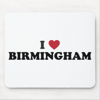 Amo Birmingham Alabama Tapete De Ratón