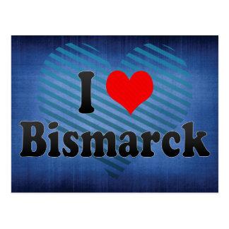 Amo Bismarck, Estados Unidos Tarjeta Postal