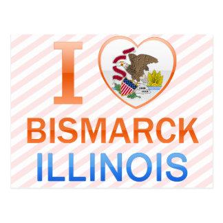 Amo Bismarck, IL Tarjeta Postal
