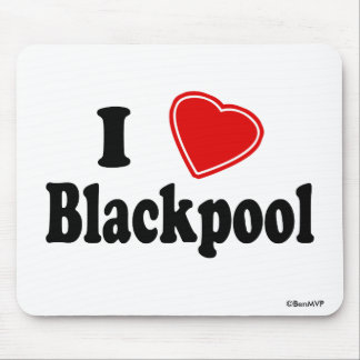 Amo Blackpool Tapetes De Raton