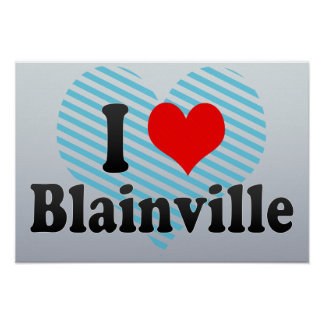 Amo Blainville Canadá Impresiones