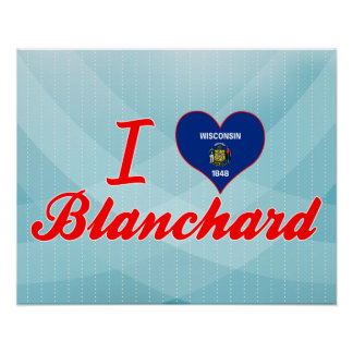 Amo Blanchard, Wisconsin Poster