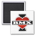 Amo BMX Imán Cuadrado
