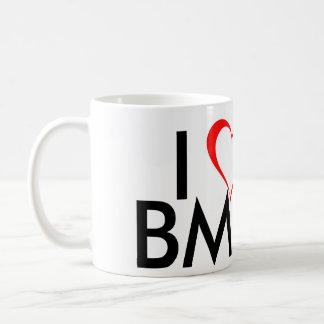 Amo BMX Taza Básica Blanca
