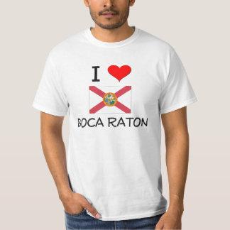 Amo BOCA RATON la Florida Camisas