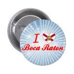 Amo Boca Raton, la Florida Pins