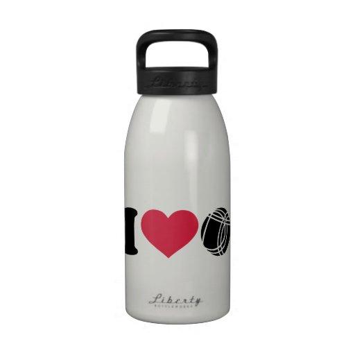 Amo Boccia Petanque Botellas De Agua Reutilizables