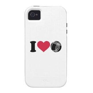 Amo Boccia Petanque iPhone 4/4S Funda