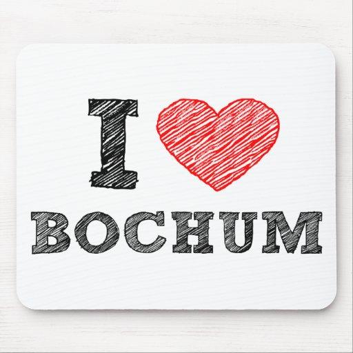 Amo Bochum Alfombrillas De Ratones