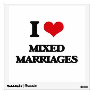 Amo bodas mezcladas