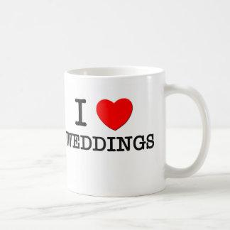Amo bodas tazas