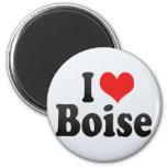 Amo Boise Imán De Frigorífico