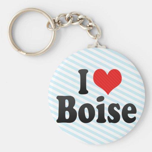 Amo Boise Llavero