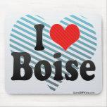 Amo Boise Tapete De Ratón
