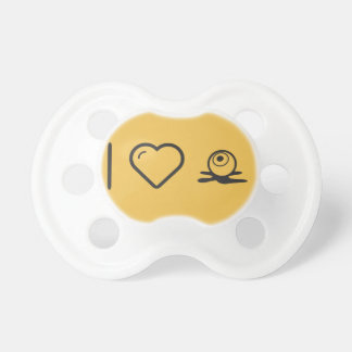 Amo bolas del ojo chupetes de bebe