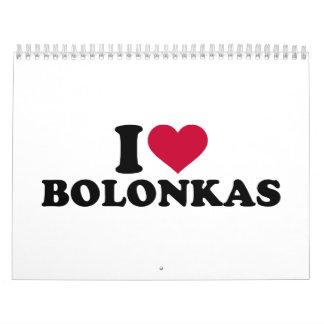 Amo Bolonkas Calendarios