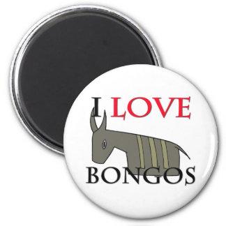 Amo bongos imán redondo 5 cm