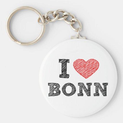 Amo Bonn Llavero Redondo Tipo Pin
