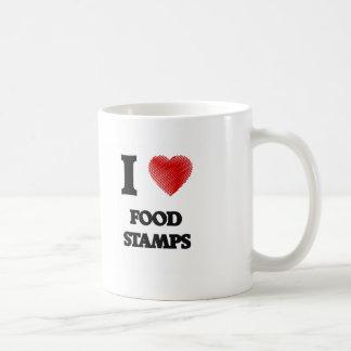Amo bonos de racionamiento taza de café