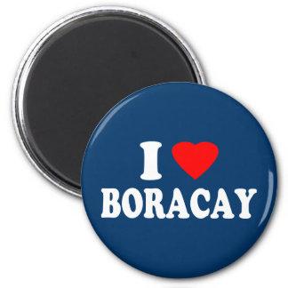 Amo Boracay Imán Redondo 5 Cm