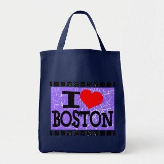 Amo Boston - bolsos Bolsa Tela Para La Compra