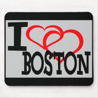 Amo Boston   - cojín de ratón Tapete De Ratones