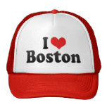 Amo Boston Gorros Bordados