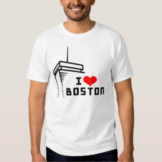 Amo Boston para mujer Poleras