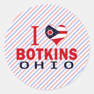 Amo Botkins Ohio Pegatinas
