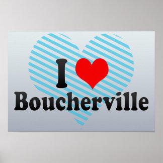 Amo Boucherville Canadá Posters