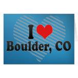 Amo Boulder, CO Felicitación
