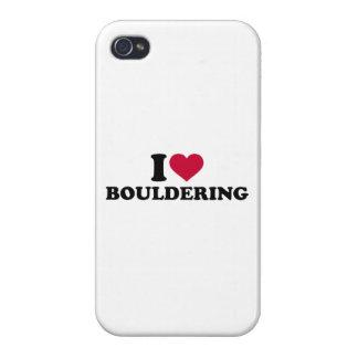 Amo Bouldering iPhone 4 Funda