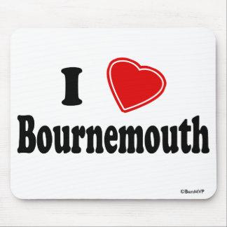 Amo Bournemouth Alfombrillas De Ratón