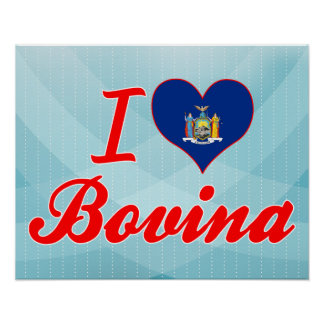 Amo Bovina Nueva York Impresiones