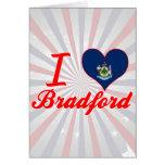 Amo Bradford, Maine Felicitación
