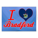 Amo Bradford, Maine Tarjetas
