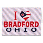 Amo Bradford, Ohio Felicitaciones