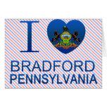 Amo Bradford, PA Felicitacion