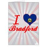 Amo Bradford, Vermont Felicitacion