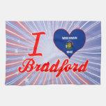 Amo Bradford, Wisconsin Toalla De Cocina