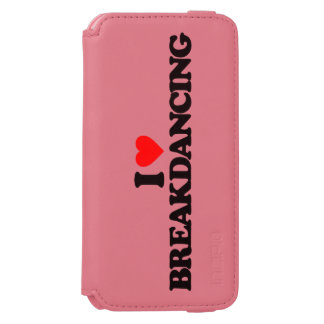 AMO BREAKDANCING FUNDA BILLETERA PARA iPhone 6 WATSON