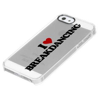 AMO BREAKDANCING FUNDA CLEARLY™ DEFLECTOR PARA iPhone 5 DE UNCOMMON