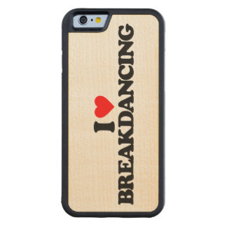 AMO BREAKDANCING FUNDA DE iPhone 6 BUMPER ARCE