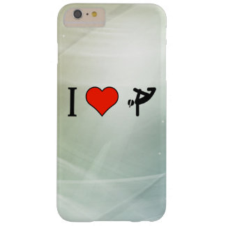 Amo Breakdancing Funda Para iPhone 6 Plus Barely There