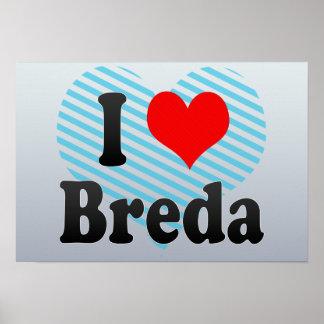 Amo Breda Países Bajos Posters